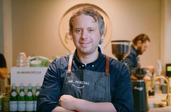 Mr Percival Cafe & Restaurant Melbourne owner Anthony Erm owner .melbourne domain name
